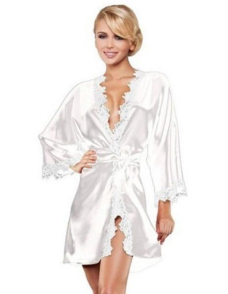 ドレス42798袖ロブレースパッチワークナイトウェアパジャマGストリング付き(1つを選択してください
