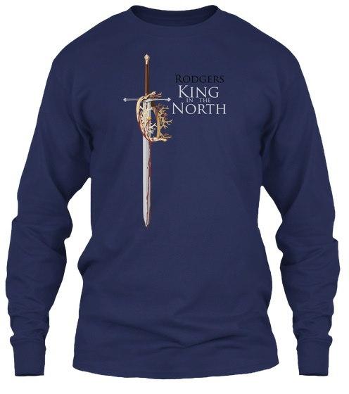 ロジャース・キング・オブ・ウィンター・ギルタン6.1ozロングスリーブ・ティー