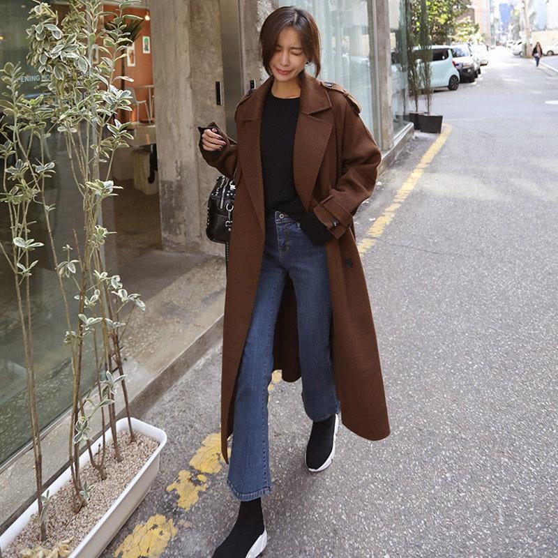 ♥送料 0円★PPGIRL_A837 スタンダードなデザインだから一着は欲しい! ウール90%ハンドメードコート