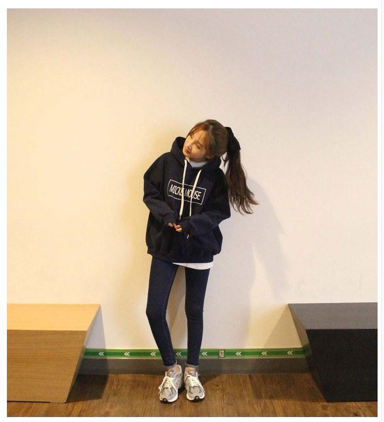 韓国ファッションパーカー/ミッキーパーカー/フード付きパーカー/厚手/ミッキー/ディズニーパーカー/レディースパーカー /カジュアル/ペアルック/ディズニーパーカー /ミッキーパーカー /4COLOR