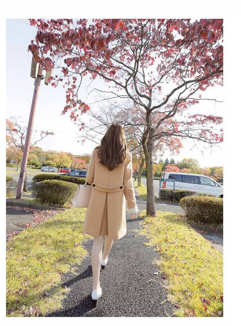 【10月20日新品】加厚保温性のある人のコートの2017年秋冬新型韩版修身のコートの厚いコート风衣