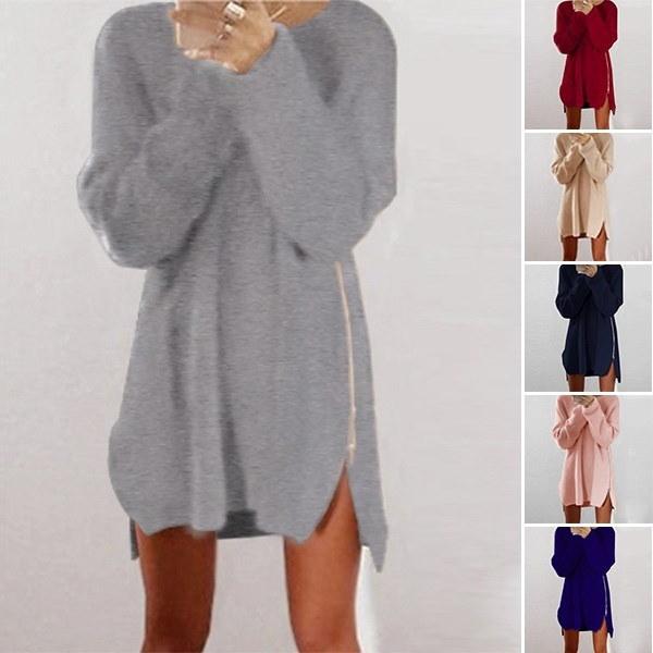 新しい女性の長袖カーディガン非対称裾スリムカジュアルなアウトレットコートトップス