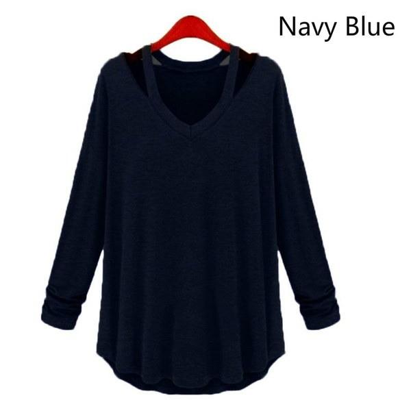 新しい到着女性の装飾的なボタン繊細なカウルネックファッションカジュアルロングスリーブパーカーセーター