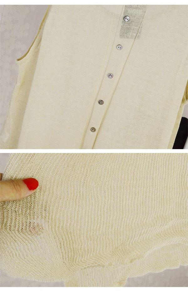【メール便OK】ニットトップス、ニット、ベスト、カラートップス、ノースリーブ、シャツ レディース、ナチュラル、カジュアル、トップス/Tシャツ/トップス/カットソー/4色/オーバーサイズ[MBOK]