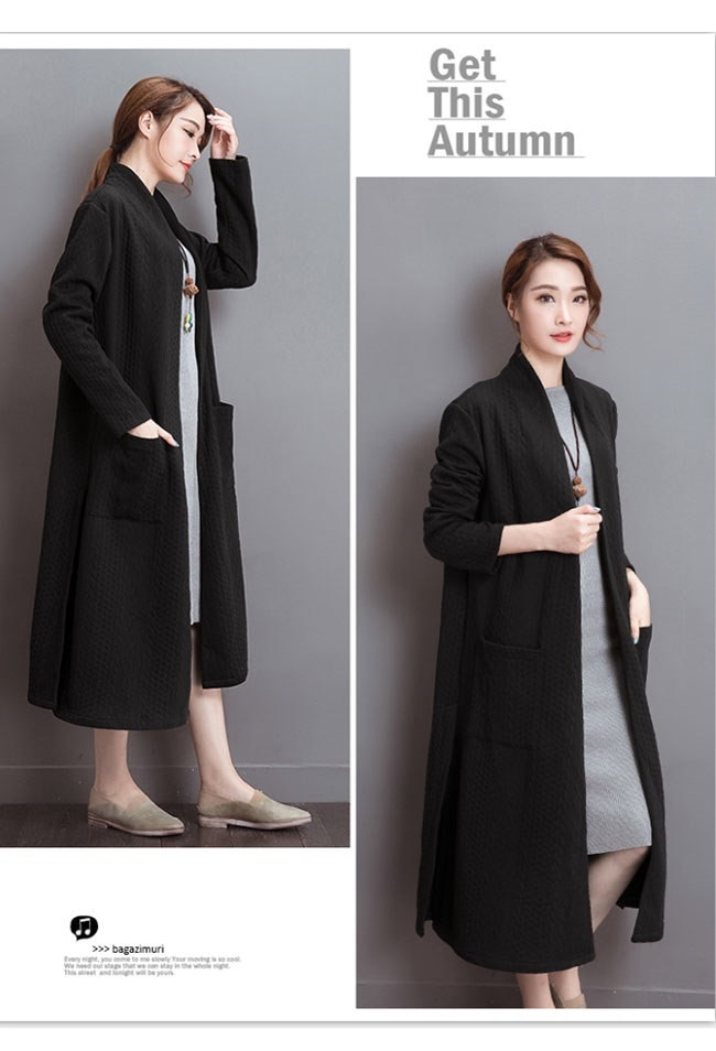 レディースファッション ロングコート 大きいサイズ 綿 アウター 羽織 大人 レディース お洒落 カジュアル カーデ