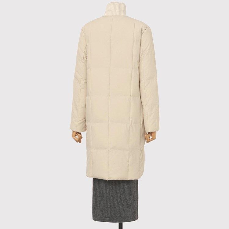 [中綿]モダンラウンド中綿パディングコート/韓国ファッション