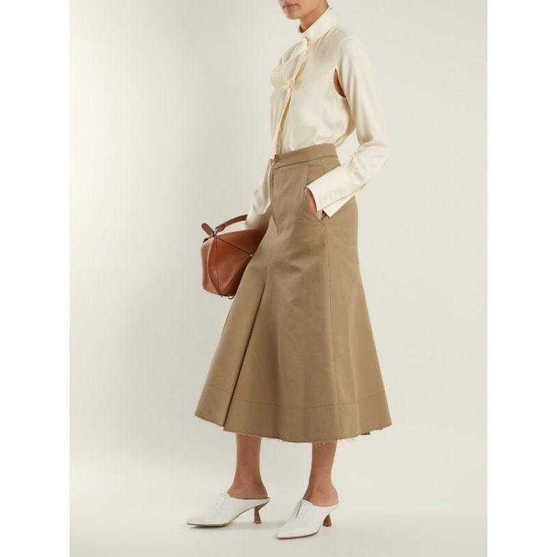 ジョゼフ レディース トップス ブラウス・シャツ【Harold high-neck silk-blend blouse】Cream