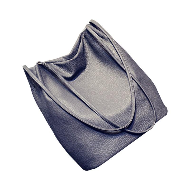 SALE 【予約】【送料無料】韓国ファッションスタイル/PUレザートートバッグ/女子向け人気カバン/雑誌/A4/大容量/10 colors