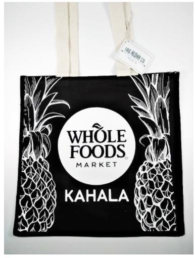 バッグ ハワイ直輸入 限定 トートバッグ 人気 パイナップル おしゃれ エコバッグ