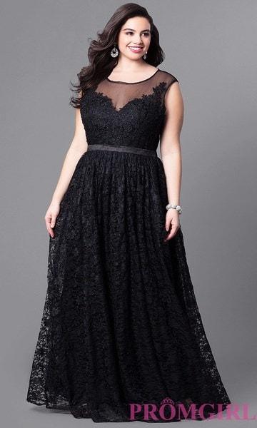 女性のファッションプラスサイズエレガントなレースのウエディングドレスノースリーブソリッドパーティーマキシドレス