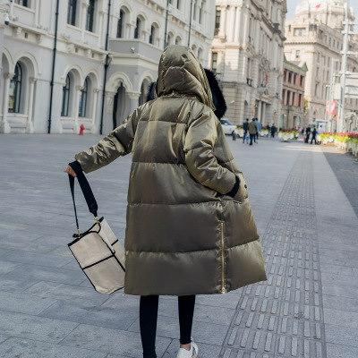 ダウンジャケットオリーブ  あったか 大きいサイズ   冬 防寒 雪 ジャケットアウター  上品  レディース  韓国ファッション