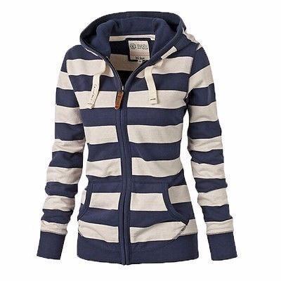 2016新しい女性秋冬服平野ジッパー暖かいパーカートレーナージャンパートップフード付きジャケットコートロングスリーブ