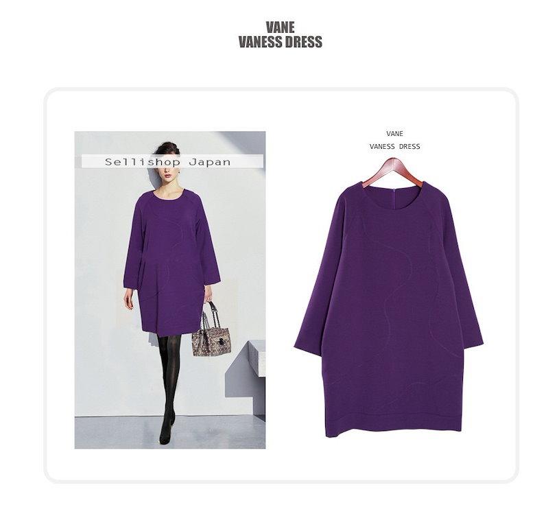 『韓国製』SELLISHOP  Vaness ワンピース「大きいサイズ 大人 韓国 ファッション・結婚式・フォマール 黒 フレア 30代 40代 50代 スレンダー・Aライン,シャツ・上品・ロング ミ