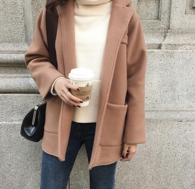 [55555SHOP]大人かっこいい♡きれいめウールジャケット