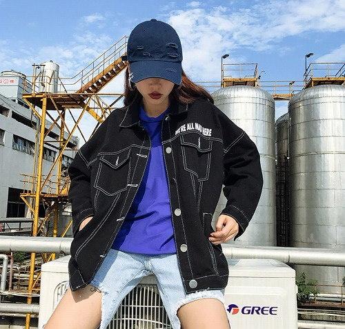 リチャオ2017♪冬HOT☆品質自信あり  カジュアル ジージャン ジャケット  7sept-chi-6619【ca】アウター ジャケット ショート丈