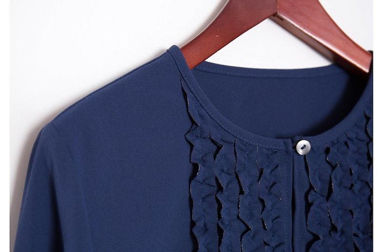 『韓国製』SELLISHOP  Donna frill ワンピース「大きいサイズ 大人 韓国 ファッション・結婚式・フォマール 黒 フレア 30代 40代 50代 スレンダー・Aライン,シャツ・上品・