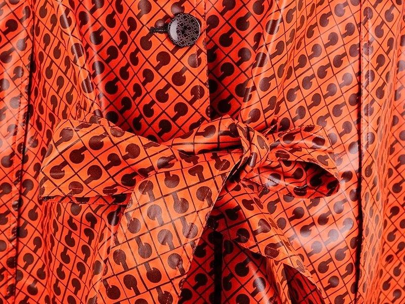 GHERARDINI ゲラルディーニ レディースレインコート 39C0259NST 02068 オレンジ系 [ ゲラルディーニ | 送料無料 ]