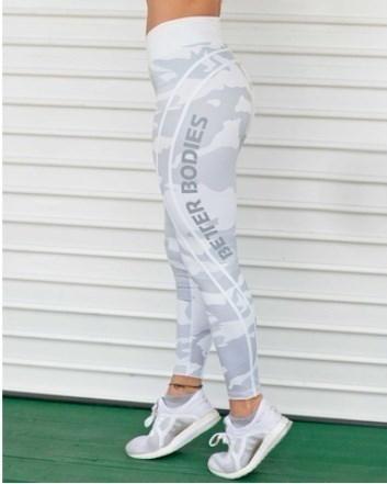 レディースファッションスポーツスリムレギンスランニングズボンカモフラージュレタープリントタイトな弾性カジュアルH