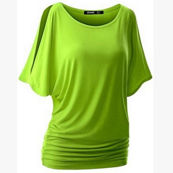 S-5XL夏の女性のカジュアルはショルダーオフファッション女性Tシャツプラスサイズのブラウス