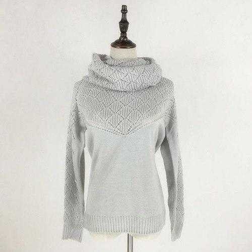 女性の女性の長袖ニットカーディガンルーズセーターアウトレットコートカジュアルセーター