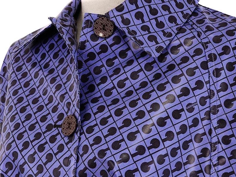 GHERARDINI ゲラルディーニ レディースレインコート 39C0259NST 03067 ブルー系 [ ゲラルディーニ | 送料無料 ]