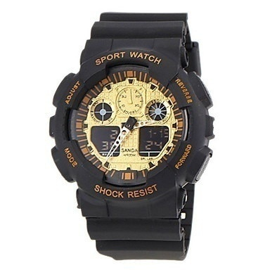 Men s Watch Sports LCD Multi-Function Dual Time Zones p338692
