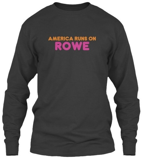 Rowe   America Runs On Gildan 6.1oz Long Sleeve Tee
