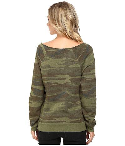 オルタナティヴ レディース パーカー・スウェット アウター Maniac Printed Fleece Sweatshirt
