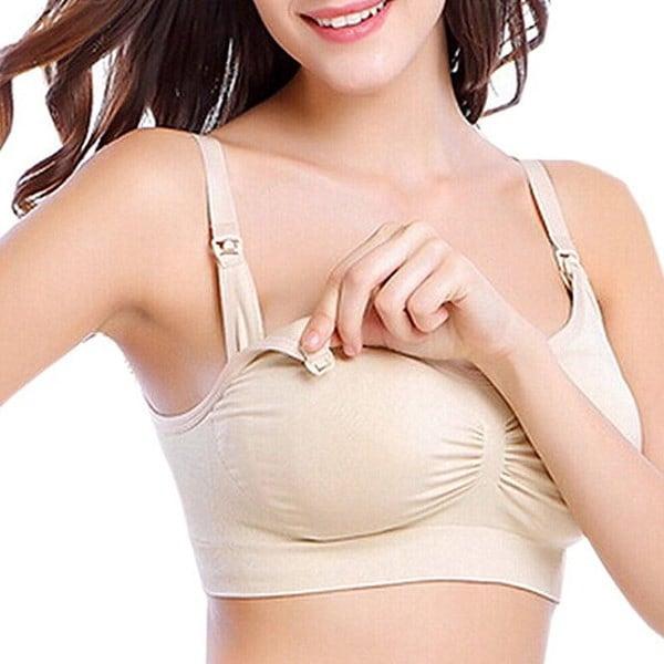 ナチュラナコットンマタニティ授乳用ドロップカップ看護ブラス - ブラックブラックスキン