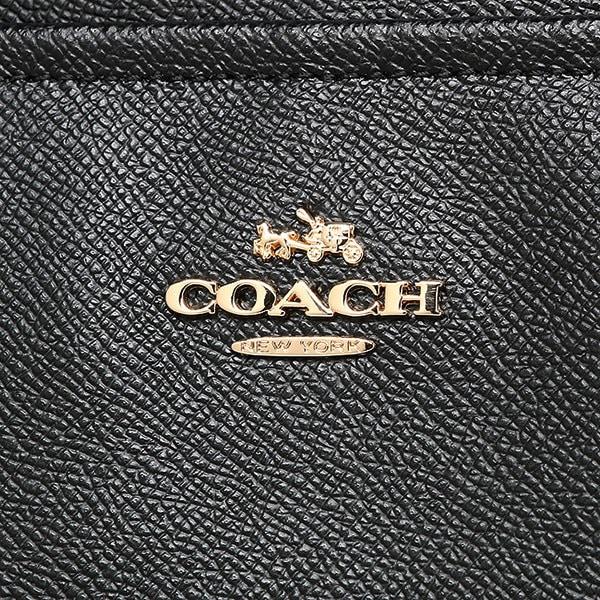 コーチ バッグ アウトレット COACH F57786 IMBLK クロスグレインレザー マルチファンクション マザーズバッグ ブラック