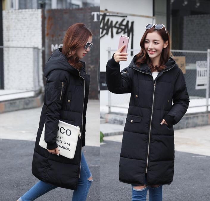 y13  ダウンコート 素敵 ロングコート アウター  大きいサイズ 防寒 暖か ダウン黒 ♪