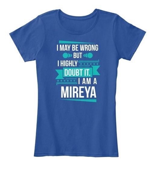 Mireya   Don t Doubt Women s Premium Tee