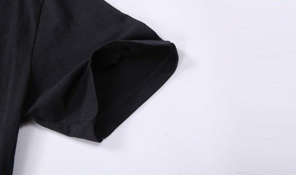 新しいキャタピラーロゴメンズTシャツサマーファッションカジュアル半袖OネックコットンブラックトップスSを