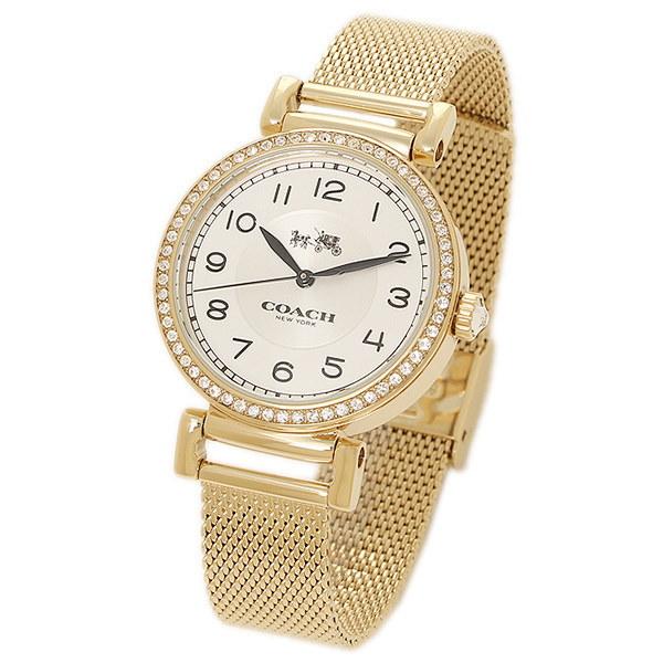 コーチ 時計 COACH 14502652 MADISON マディソン レディース腕時計ウォッチ ホワイト/ゴールド