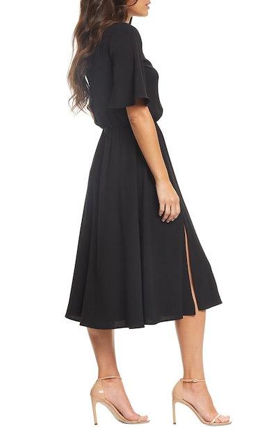 ドレスザポプレーション レディース ワンピース トップス Dress the Population Lydia Midi Dress
