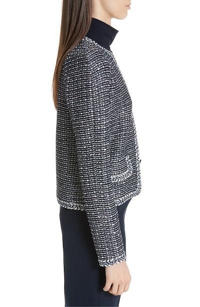 セント ジョン コレクション レディース ジャケット・ブルゾン アウター St. John Collection Raglan Sleeve Camille Knit Jacket