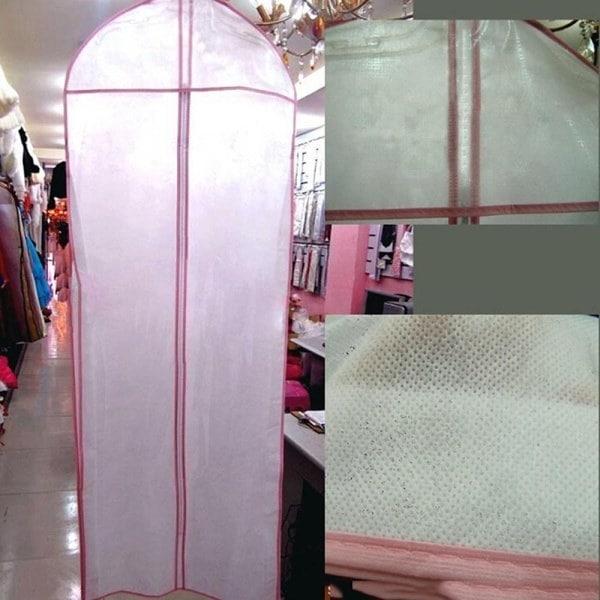 155センチメートルウェディングドレス防水衣類収納ジップバッグキャリアカバー(サイズ:ワンサイズ)