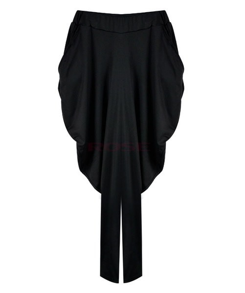 PAWACA®レディースカジュアルミッドリボンショートトップシャツ、SML XL