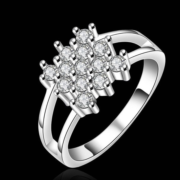 高品質の貴族と美しい925スターリングシルバーファッション人気のジュエリーファッション象眼細工ジルコンr