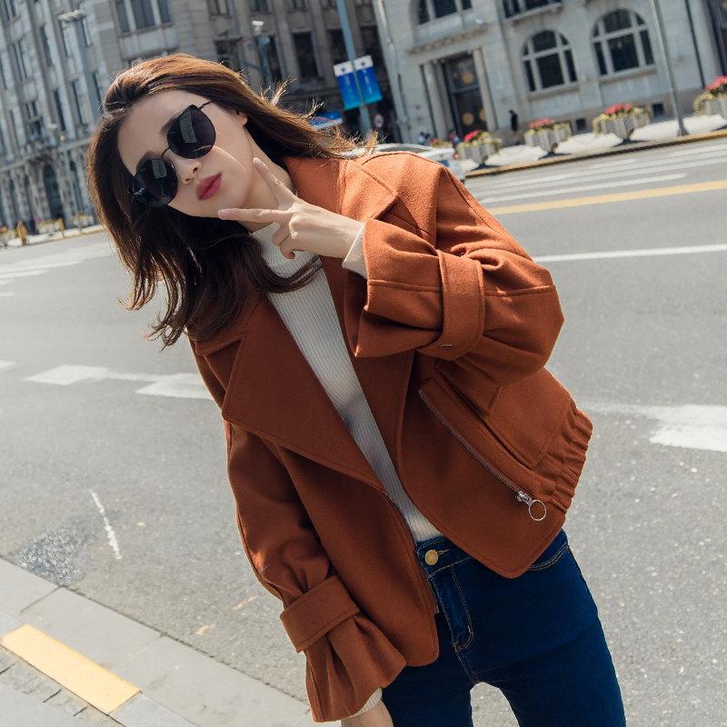 【送料無料】★★ZAKKA★★人気 新型  韓国ファッション レディース服/コート/ダッフルコート/ショートコート/ジャケット/コットン/アウター