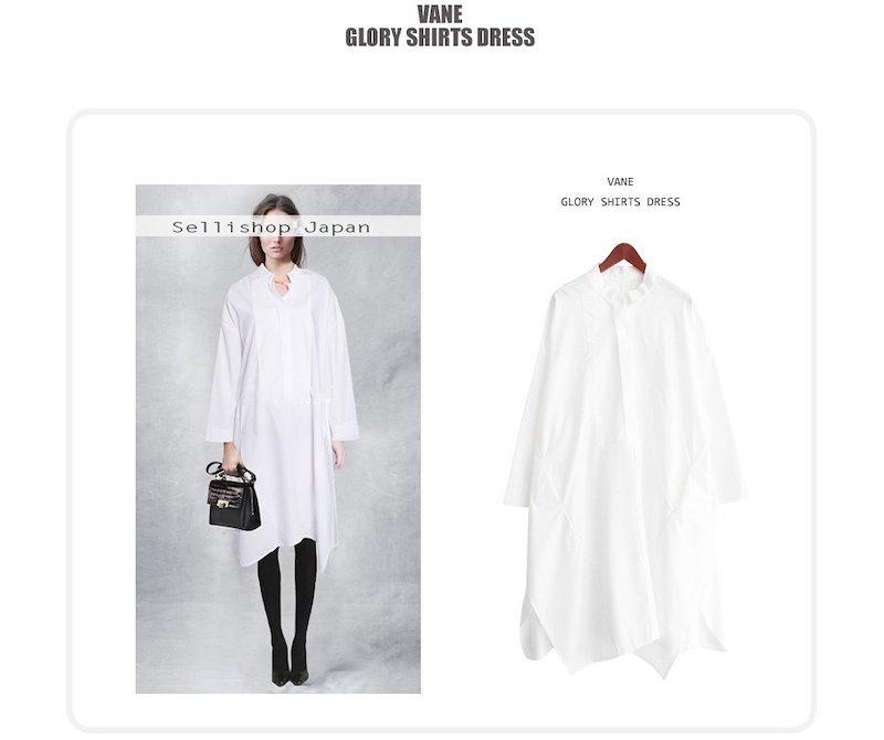『韓国製』SELLISHOP  Glory シャツ ワンピース -「大きいサイズ 大人 韓国 ファッション・結婚式・フォマール 黒 フレア 30代 40代 50代 スレンダー・Aライン,上品・ロング