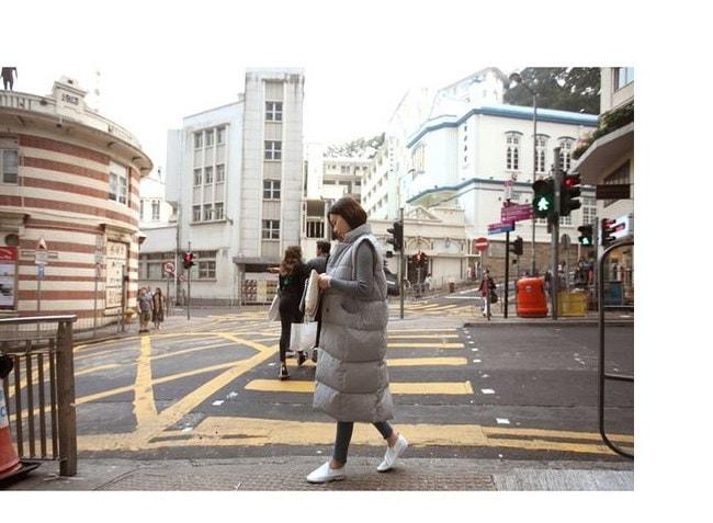 ベスト レディースファッション ジャケット 秋冬新作 大きいサイズ チョッキ ベスト ロングベスト 韓国 ファッション シンプル 純色 ロングタイプ 中綿入りコート 防寒 アウター 前開き ルームウエアでもアウターでも もふもふ おしゃれ 上品 シルエット コーディネート ベーシック 無地 合わせやすい キレイ ベスト レディースファッション アウター