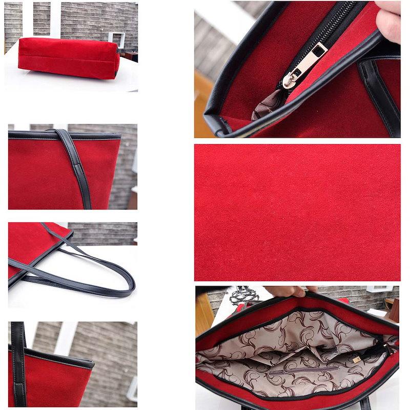 【送料無料/国内即納】レディース トートバッグ ワンショルダーバッグ 手提げかばん スエード 大きい鞄