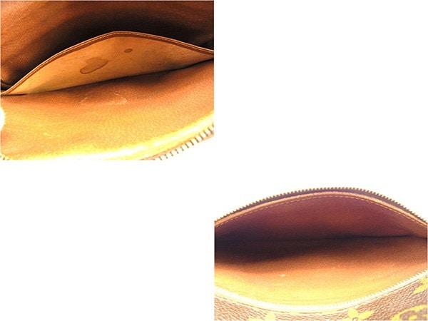 ルイ ヴィトン LOUIS VUITTON クラッチバッグ セカンドバッグ レディース メンズ 可  モノグラム  PVC×レザー 廃盤 レア 人気 【中古】 T614 .