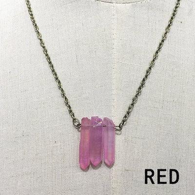 天然石水晶クリスタルネックレス