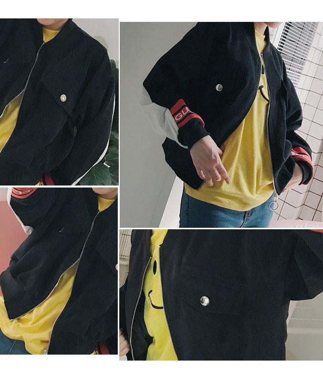春秋 新型版BF風 野球服 字母 パイロットジャケット レディースジャケット 韓国ファッション   アウターコート ジャケット潮 パイロットジャケット