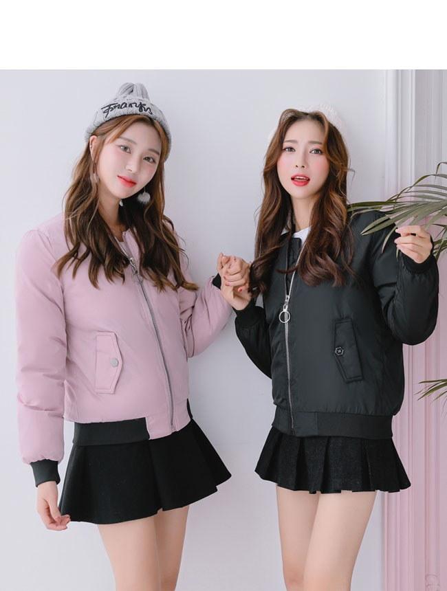 レディース服 女性 大人 冬 ダウンコート ダウンジャケット 丸襟 ショート丈 薄手 アウトドア ファッション ストリート風 可愛い 流行 ガーリー 韓国ファッション