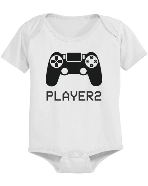 Fashion Summer Tops Family Matching Outfits Daddy and Baby Matching White T-shirt /Onesuit