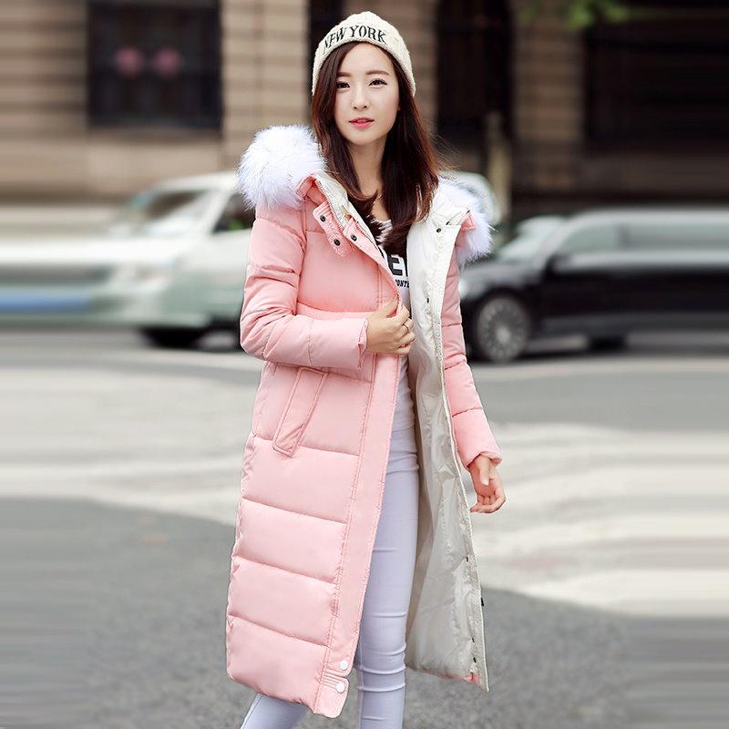 冬のジャケットの女性の2016年冬と秋は高品質パーカ冬のジャケット生き抜く女性のロングコートを着用してください