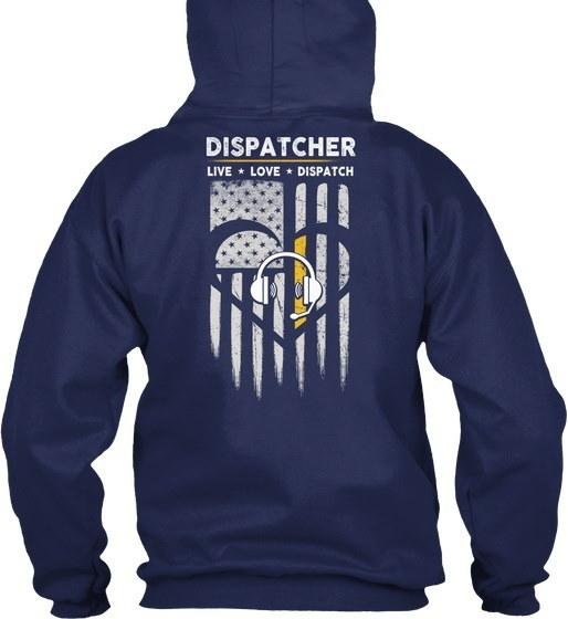 Awesome Dispatcher Shirt Gildan 8oz Heavy Blend Hoodie
